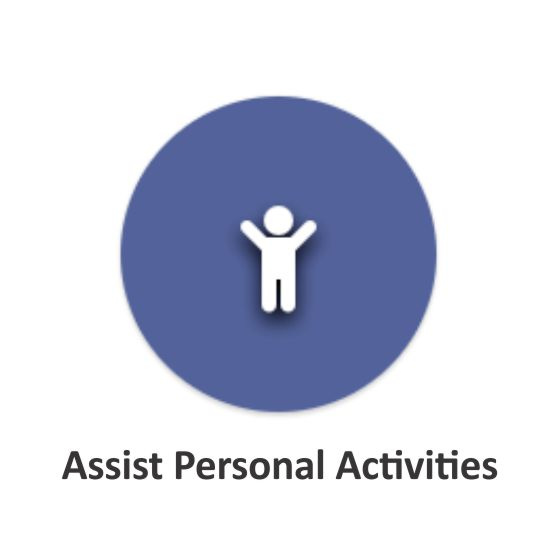 assist personal activities (p)