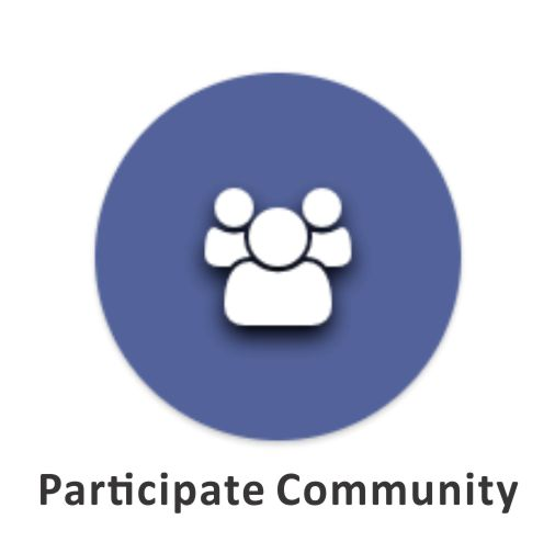 participate com (p)